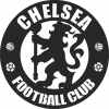 Chelsea Football Team Logo - For Laser Cut DXF CDR SVG Files - free download