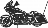 Royal Enfield- For Laser Cut DXF CDR SVG Files - free download