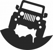 Jeep - For Laser Cut DXF CDR SVG Files - free download