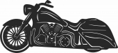 Moto Rcycle - For Laser Cut DXF CDR SVG Files - free download
