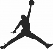 Michael Jordan - For Laser Cut DXF CDR SVG Files - free download