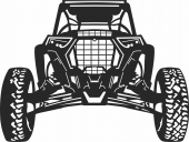 Car buggy vehicle  - For Laser Cut DXF CDR SVG Files - free download