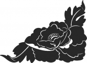 Flower - DXF SVG CDR Cut File, ready to cut for laser Router plasma