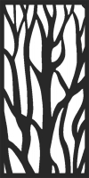 Branches Pattern dxf Ai svg cdr File Download Ready to cut