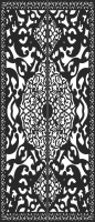 Decorative Panel Gate For Laser Cut DXF CDR SVG Files - free download