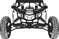 Car buggy - For Laser Cut DXF CDR SVG Files - free download