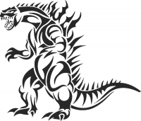 Dinosaur - DXF SVG CDR Cut File, ready to cut for laser Router plasma