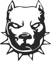 Bulldog - DXF SVG CDR Cut File, ready to cut for laser Router plasma