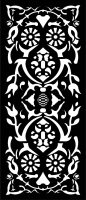 door ,Design pattern screen panel  file cdr and dxf free vector download for laser cut cnc