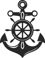 Anchor Marine - DXF CNC dxf for Plasma Laser Waterjet Plotter Router Cut Ready Vector CNC file