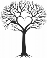 Family Tree - For Laser Cut DXF CDR SVG Files - free download