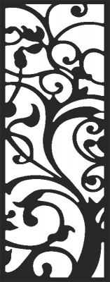 Door pattern - DXF CNC dxf for Plasma Laser Waterjet Plotter Router Cut Ready Vector CNC file