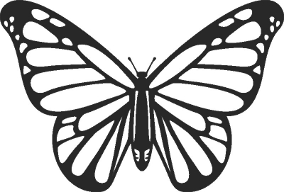 Batterfly - For Laser Cut DXF CDR SVG Files - free download